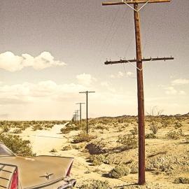 Desert Fury-8x10 Fine Art Print