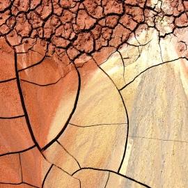 Dry Earth-8x10 Fine Art Print
