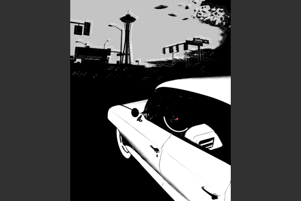 Battleship Cadillac-8x10 Fine Art Print