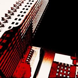 Corporate Ladder-8x10 Fine Art Print