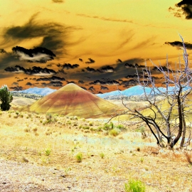 Painted Hills-8x10 Fine Art Print
