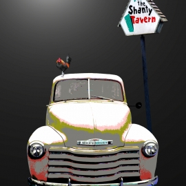 The Shanty Truck-8x10 Fine Art Print