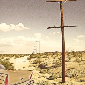 DESERT FURY - 8x10 fine art print