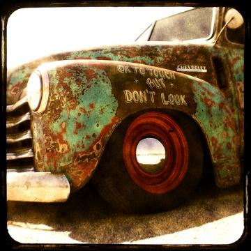 DON'T LOOK- 8x8 TtV fine art print