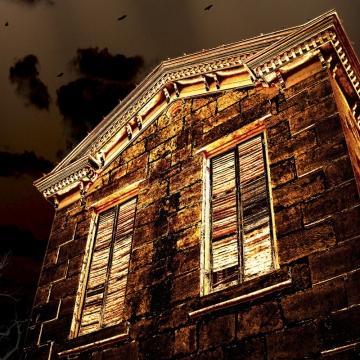 HOUSE OF GOLD - 8x10 fine art print