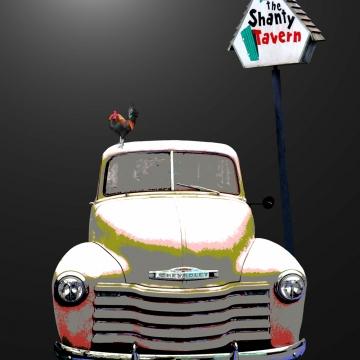 SHANTY TRUCK - 8x10 fine art print